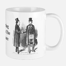 Parting Masonically Mug
