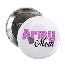 """Army Mom 2.25"""" Button (10 pack)"""