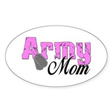 Army Mom Oval Decal
