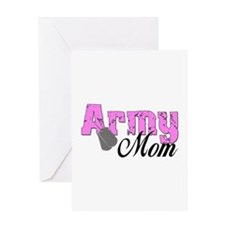 Army Mom Greeting Card