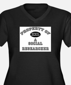 Property of a Social Researcher Women's Plus Size