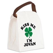 Cute Jovan Canvas Lunch Bag