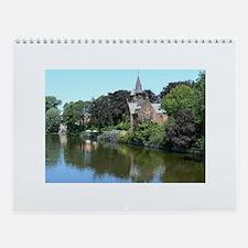 European (Benelux) Wall Calendar