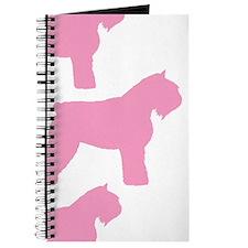 Pink Bouvier Des Flandres Journal