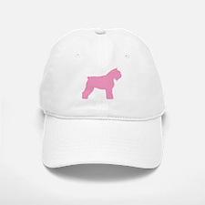 Pink Bouvier Des Flandres Baseball Baseball Cap