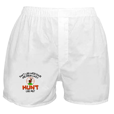 Girls Hunt Boxer Shorts
