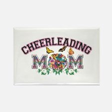Cheerleading Mom Rectangle Magnet