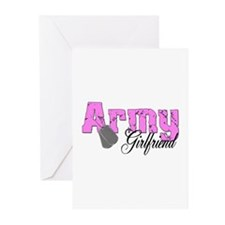 Army Girlfriend Greeting Cards (Pk of 10)