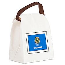 Oklahoma Canvas Lunch Bag