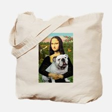 Mona's English Bulldog Tote Bag