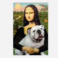 Mona's English Bulldog Postcards (Package of 8)