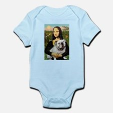 Mona's English Bulldog Infant Bodysuit