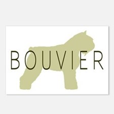 Bouvier Dog Sage w/ Text Postcards (Package of 8)