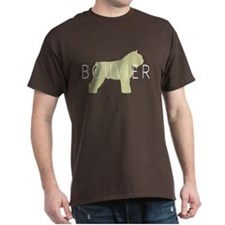 Bouvier Dog Sage w/ Text T-Shirt