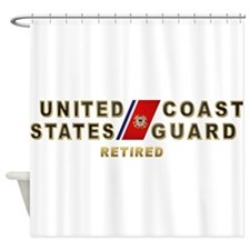 uscg_retx.png Shower Curtain