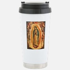 Virgin Of Guadalupe Stainless Steel Travel Mug