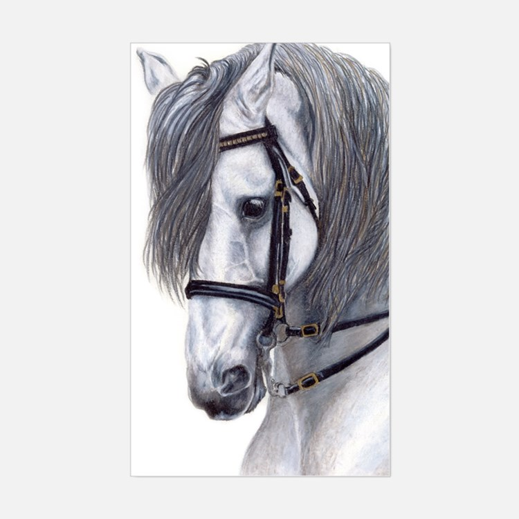 Andalusian Rectangle Decal