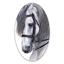 Andalusian Oval Decal