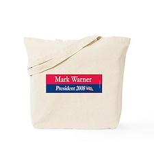 """Mark Warner President"" Tote Bag"