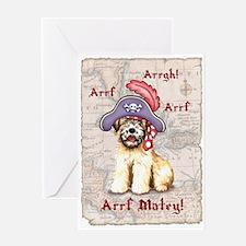 Wheaten Pirate Greeting Card