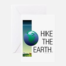TOP Hike the Earth Greeting Card