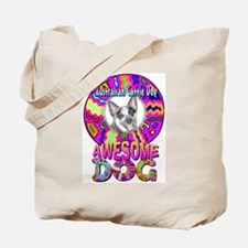 """""""Awesome"""" AuCaDogs Photo Art Tote Bag"""