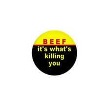 BEEF Mini Button