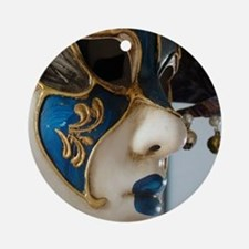 Costume Mask Ornament (Round)
