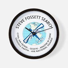 """""""Steve Fossett Search"""" Wall Clock"""