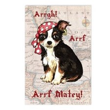 Chihuahua Pirate Postcards (Package of 8)