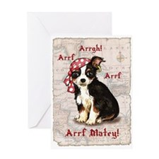 Chihuahua Pirate Greeting Card