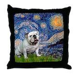 Bulldog Throw Pillows