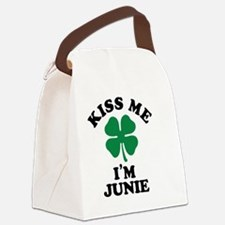 Unique Junie Canvas Lunch Bag