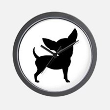 Funny Cute Chihuahua Wall Clock