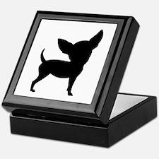 Funny Cute Chihuahua Keepsake Box