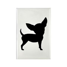 Funny Cute Chihuahua Rectangle Magnet (10 pack)
