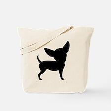 Funny Cute Chihuahua Tote Bag