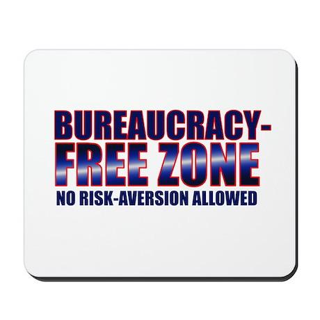 Bureaucracy-Free Zone Mousepad