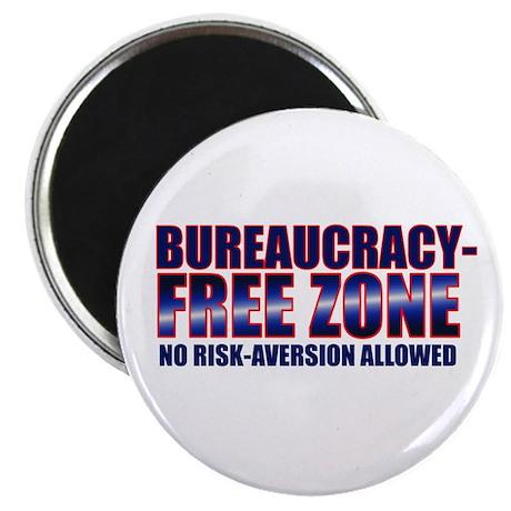 Bureaucracy-Free Zone Magnet