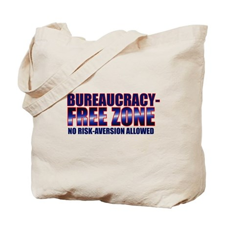 Bureaucracy-Free Zone Tote Bag