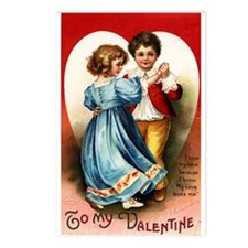 1914 Valentine Postcards (Package of 8)