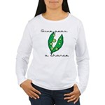 Give peas (peace) a chance Women's Long Sleeve T-S