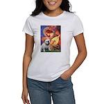 Mandolin Angel & English BD Women's T-Shirt
