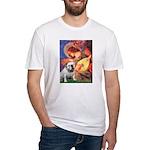 Mandolin Angel & English BD Fitted T-Shirt