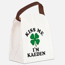Cute Kaeden Canvas Lunch Bag