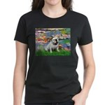 Lilies (#2) & Englsih BD (#9) Women's Dark T-Shirt