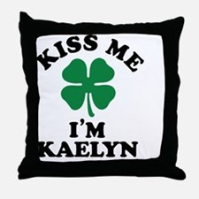 Cute Kaelyn Throw Pillow