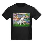Lilies (#2) & Englsih BD (#9) Kids Dark T-Shirt