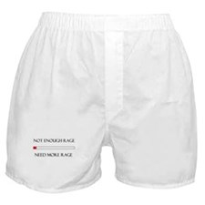 Not Enough Rage Boxer Shorts
