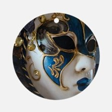 Mask Ornament (Round)